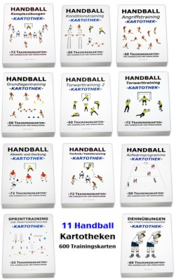 Handball Kartotheken-Set