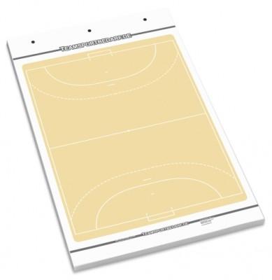 Handball Flipchart-Spielfeldblock