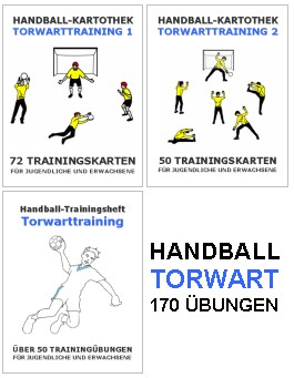 Handball Kartothek Torwarttraining