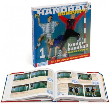 """Handball Handbuch  """"Kinder-Handball"""""""