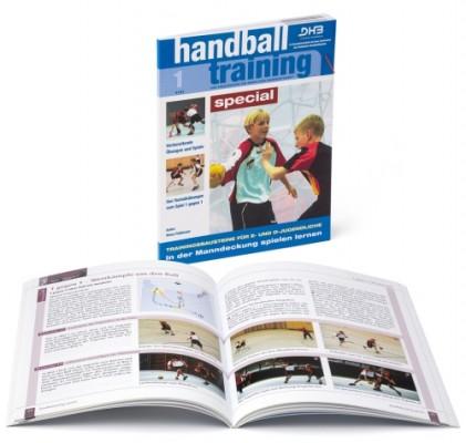 """handballtraining special 1 """"In der Manndeckung spielen lernen"""""""